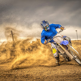 Dust Storm by Thomas Dilworth - Sports & Fitness Motorsports ( motocross, moto, dirtbike, colorado, motorcycle )