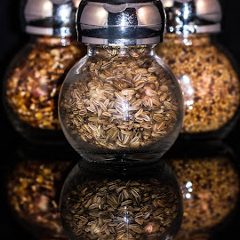 Spices by Garry Chisholm - Food & Drink Ingredients ( ingredients, garry chisholm, food, spice, jars )