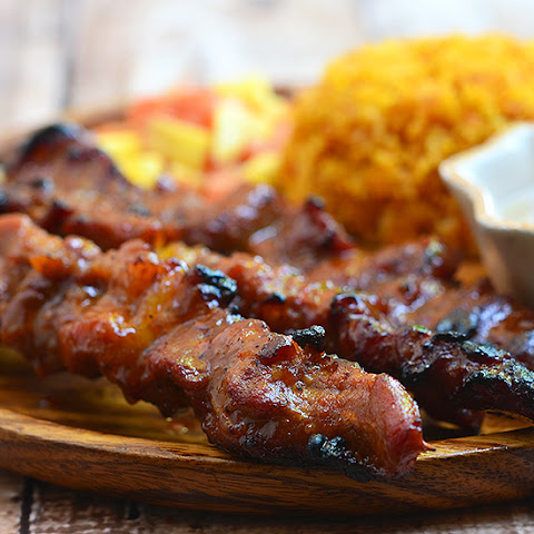 Barbecue Pork on a Stick