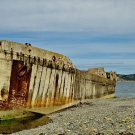 Crete Joist by Thor Erik Dullum - Transportation Boats ( ww2, wwii, shipwreck, ship, boats, boat )