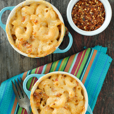 Mini Creamy Mexican Macaroni-and-Cheese