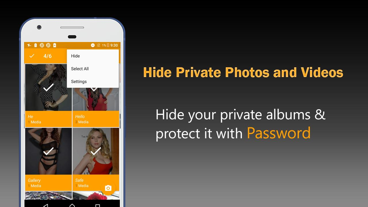 Safe Gallery App: Hide Private Photo & Videos — приложение на Android