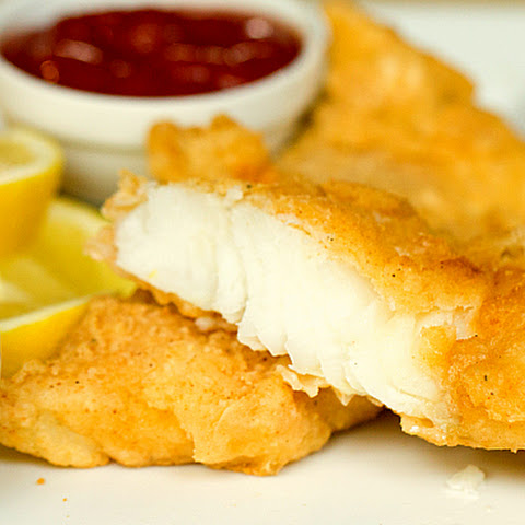 Batter Fried Fish and Chips