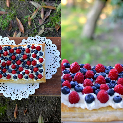 Mascarpone & Berry Tart