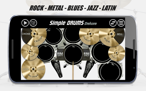 Simple Drums - Deluxe APK for Ubuntu