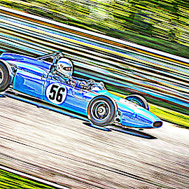 1961 Cooper T56 MK11 by Debbie Quick - Digital Art Things ( race track, racing, debbie quick, 1961 cooper t56 mk 11, connecticut, debs creative images, speed, automobile, speedway, race car, car, lime rock park, track )