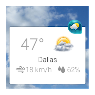 Download Weather & Clock Widget Android APK on PC