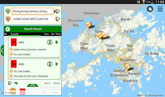 Screenshot of HKeTransport