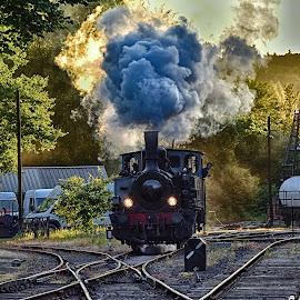 Steam Is Power ! by Marco Bertamé - Transportation Trains ( steam engine, fond-de-gras, locomotive, luxembourg, steam,  )