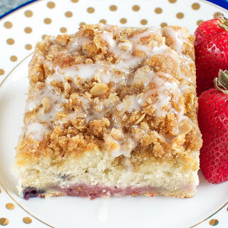 Triple Berry Coffee Cake