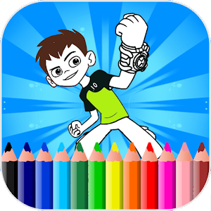 Coloring Pages For Ben Ten - Aliens For PC / Windows 7/8/10 / Mac – Free Download