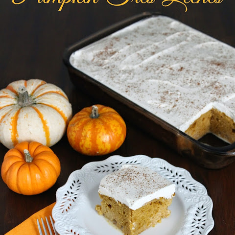 Pumpkin Tres Leches