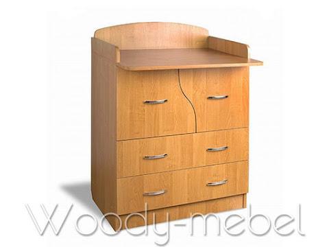 Детская мебель: Комод детский