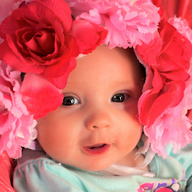Flower Baby by Cheryl Korotky - Babies & Children Babies
