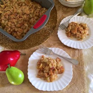Caramel Pear Dessert Recipes