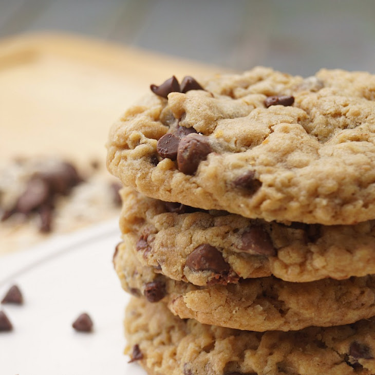 Peanut Butter Oatmeal Chocolate Chip Cookies Recipe | Yummly