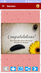 Congratulations Greetings PRO - screenshot