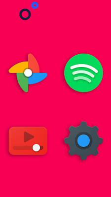 Frozy / Material Design Icon Pack- screenshot