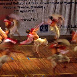 Dancers by Aung Kyaw Soe - People Group/Corporate