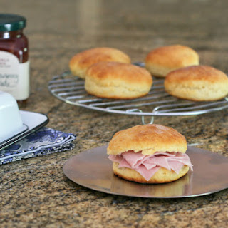 Buttermilk Biscuits with Country Ham