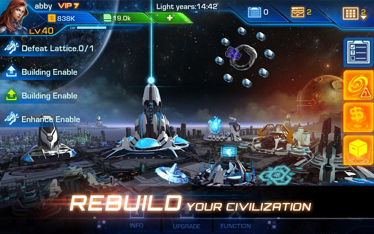 Galaxy Legend Screenshot 2