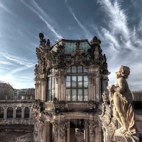 Zwinger by Kai Buddensiek - Buildings & Architecture Public & Historical ( deutschland, hdr, germany, night, dresden, 16-35, nacht, zwinger )