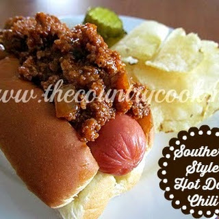 Southern Style Hot Dog Chili