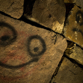 Happy and Sad by Marc Steele - Artistic Objects Other Objects ( countryside, uk, sadness, sad, happiness, rural, country, england, happy, cromford, peak district, juxtaposition, derby, derbyshire )
