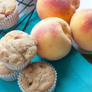 Healthy Peach Yogurt Muffins Recipes