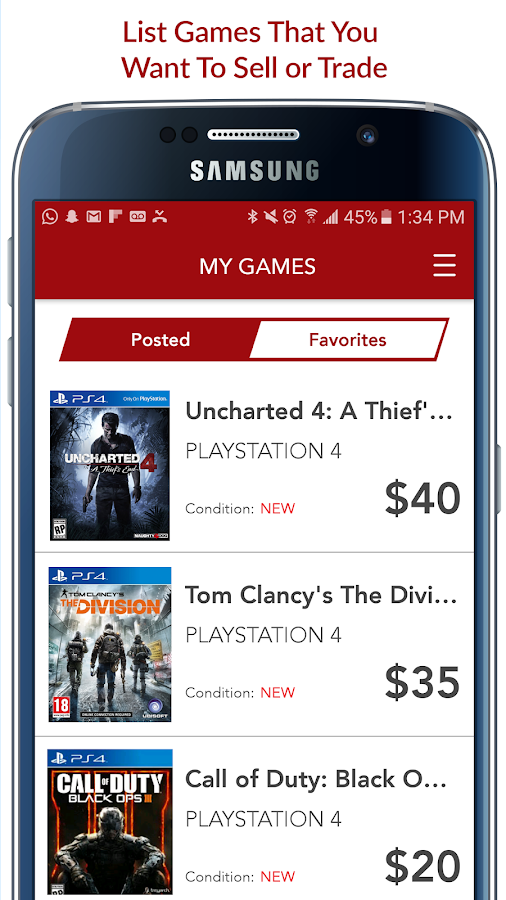GameBin: Trade & Sell Games Screenshot 3