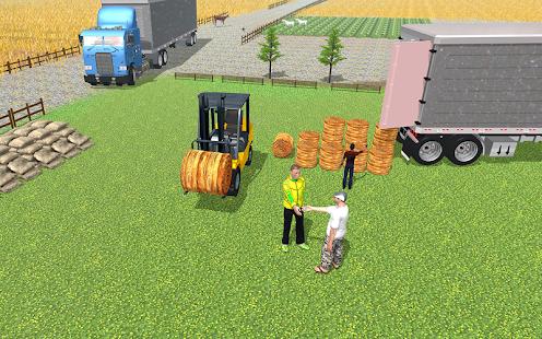 heavy tractor trolley cargo:rural farmer simulator hack