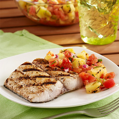 Grilled Mahi Mahi Fillets