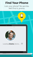 Screenshot of Sprint Family Locator