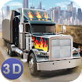 American Truck Driving 3D APK for Bluestacks