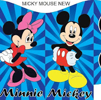 MICKEY MOUSE AND FRIENDS BOUNCY CASTLE FOR HIRE