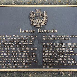 Louise Grounds The land from Victoria Avenue north of 11th Street was originally called Louise Grounds, after Princess Louise, daughter of Queen Victoria and wife of the Marquess of Lorne who was ...
