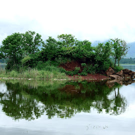 Reflection by Tahir Sultan - Landscapes Waterscapes ( nikon, reflection, water, trees, islamabad,  )