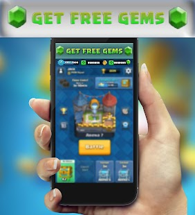 App Cheat Gems for Clash Royale - Prank APK for Windows Phone
