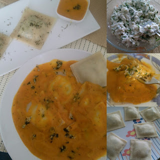 Spinach And Cottage Cheese Ravioli Recipes