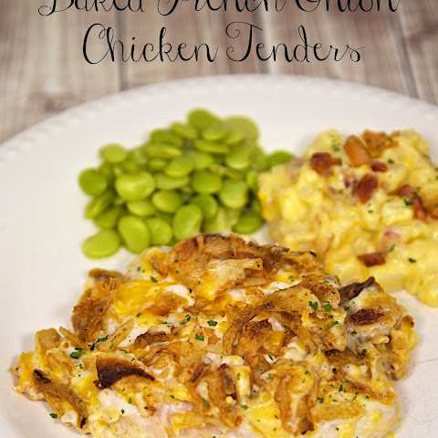 Baked French Onion Chicken Tenders