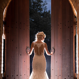 Doors by Lodewyk W Goosen (LWG Photo) - Wedding Bride ( wedding photography, wedding photographers, wedding day, weddings, wedding, wedding day wedding dress, brides, wedding photographer, bride )
