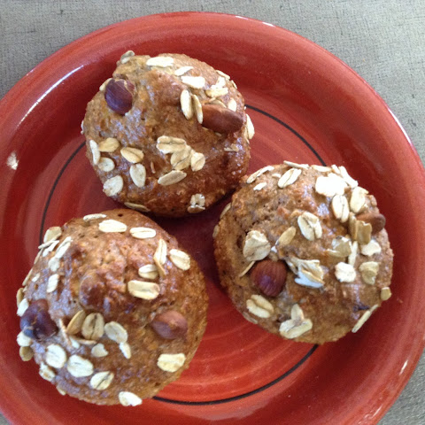 Eddie's Spicey Oaty low fat apple  yoghurt muffins