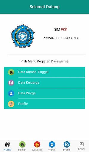 Aplikasi Pendataan Dasawisma Provinsi DKI Jakarta screenshot 3