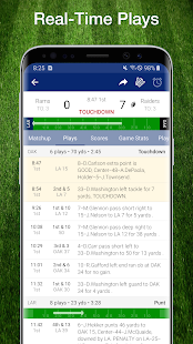 Football NFL Live Scores, Stats & Schedules 2019
