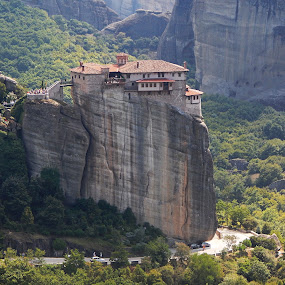Meteora by Irena Čučković - Buildings & Architecture Public & Historical ( nature, meteora, monastery, greece )
