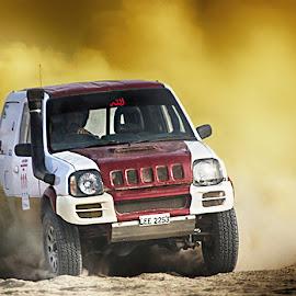 Jimny by Abdul Rehman - Sports & Fitness Motorsports ( pakistan, sand, jhal magsi, adventure, desert, thrilling, dust, sport, dangerous, baluchistan )
