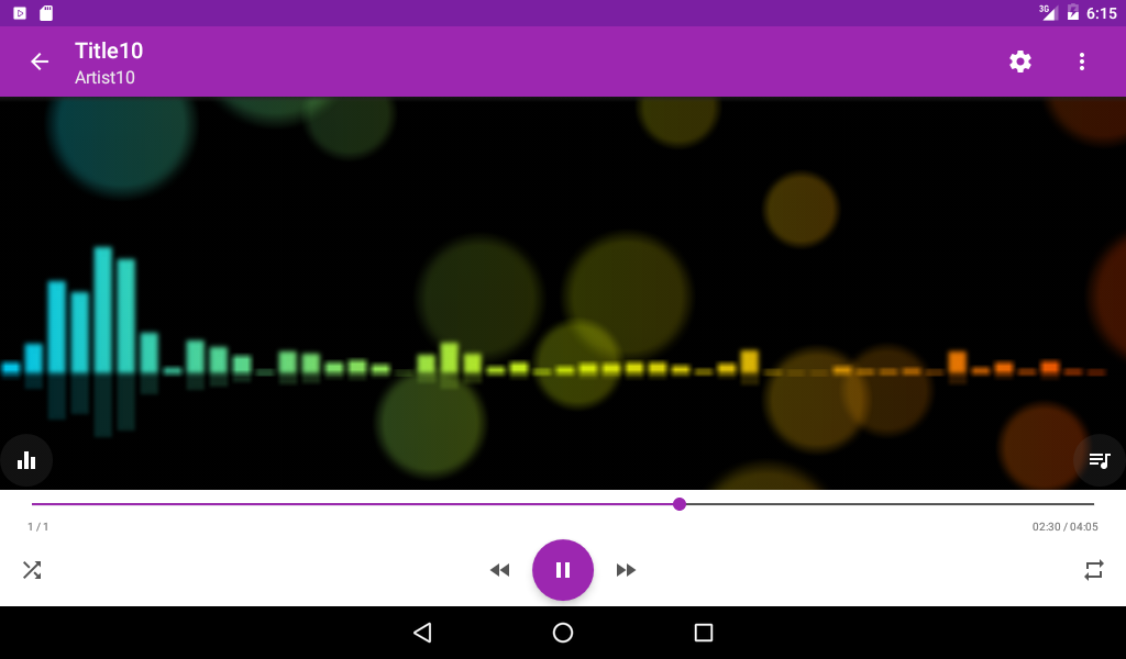 Music Player Equalizer Pro Screenshot 8