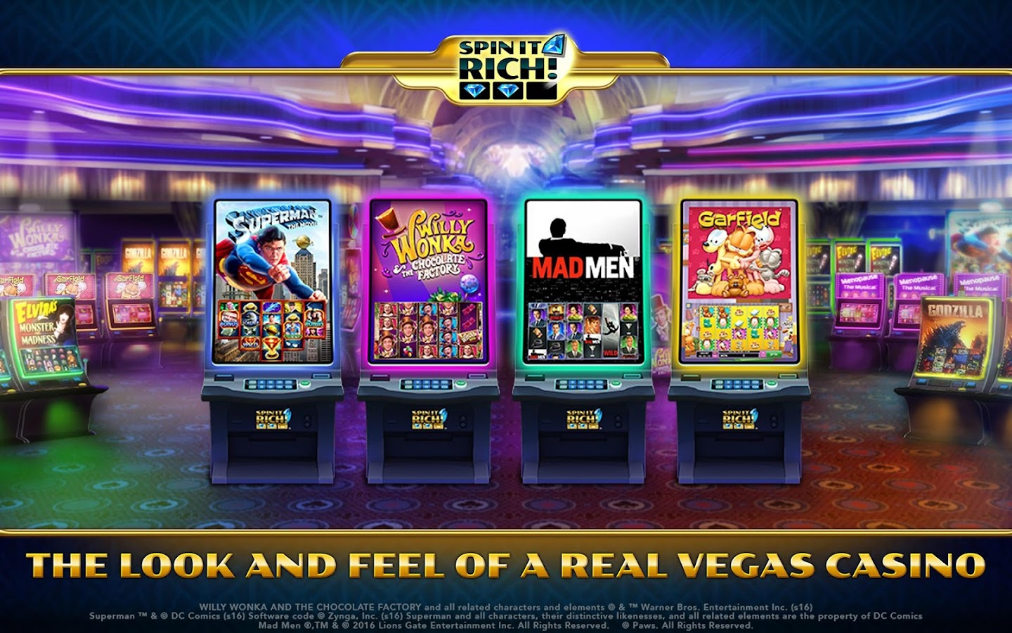 Spin It Rich! Free Slot Casino Screenshot 10