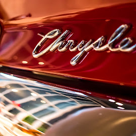 Chrysler Classic Car by Darren Townsend - Transportation Automobiles ( car, chrysler, made in america, vintage, automobile, auto, amweica, transportation, collectors item, usa, classic )