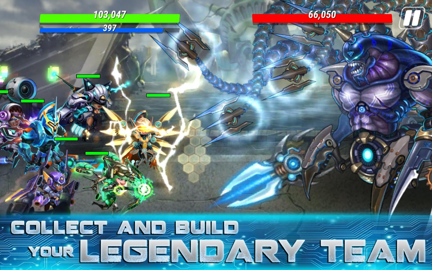 Heroes Infinity: Gods Future Fight Screenshot 4